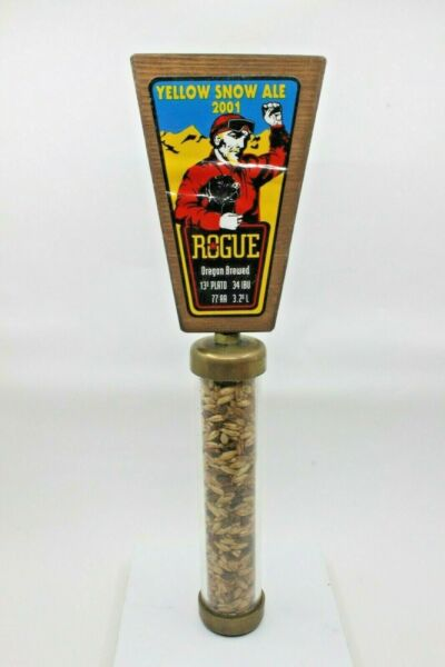 Vintage Beer Tap Handle Rogue Brewing