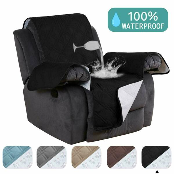 Recliner Chair Arm Cover Lazy Boy Dog Furniture Reversible Microfiber Waterproof $142.08