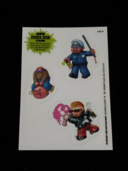 Garbage Pail Kids 2013 BNS 3 GPK Sticker Scene Card #6