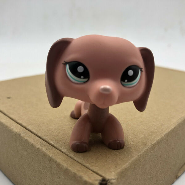 LPS Doll Dachshund Dog Pet Shop 2046 Rare Collection Toy Gift For Children's Day