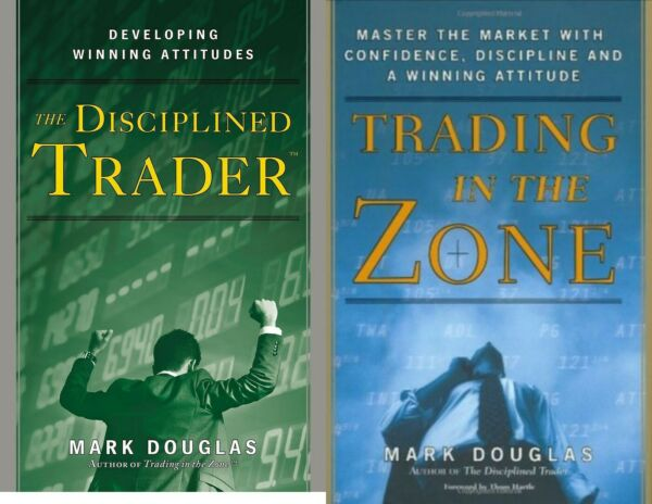 (𝒫.D.F) Trading in the zone by Mark Douglas +The disciplined Trader fast deliv.
