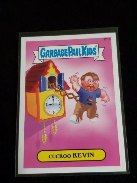 2014 Topps Garbage Pail Kids Card #121a Cuckoo Kevin GPK