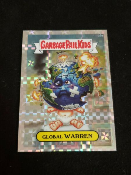 Garbage Pail Kids 2013 Chrome SERIES 1 XFRACTOR Refractor LOST L6A GLOBAL WARREN