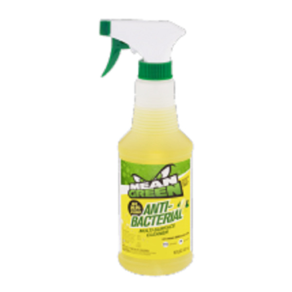 Cleaning Supplies: Mean Green Anti- Bacterial Multi Surface Cleaner