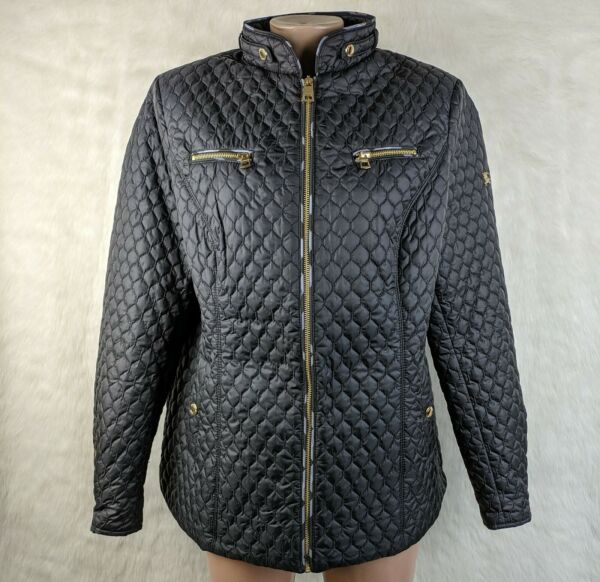 BURBERRY BRIT Quilted Full Zip Jacket PRORSUM Patch Nova Check Lining Size 3XL