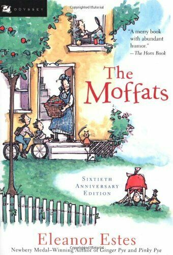 Complete Set Series Lot of 4 Moffats books by Eleanor Estes