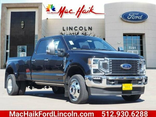 2020 Ford F-350 King Ranch 2020 Ford Super Duty F-350 DRW King Ranch 198 Miles Black Crew Cab Pickup Interc