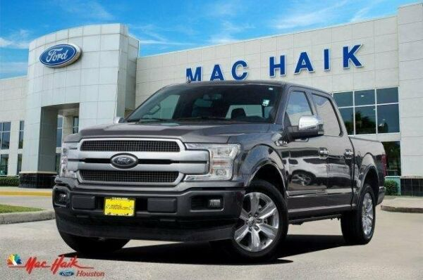 2019 Ford F-150 Platinum 2Wd Supercrew 5.5' Box 2019 Ford F-150 Platinum 2Wd Supercrew 5.5' Box 27683 Miles Magnetic Metallic Cr