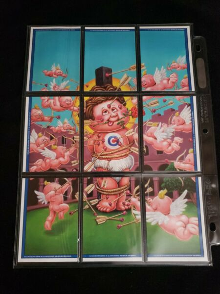 2013 Garbage Pail Kids Complete 9 Card Puzzle Back Lot BNS 3 LOVESTRUCK CHUCK