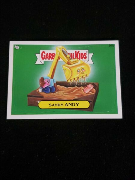 2013 Garbage Pail Kids BNS SERIES 2 SANDY ANDY 91b GPK