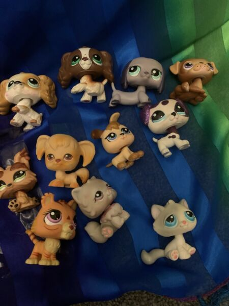 lps dog and cat lot $40.99