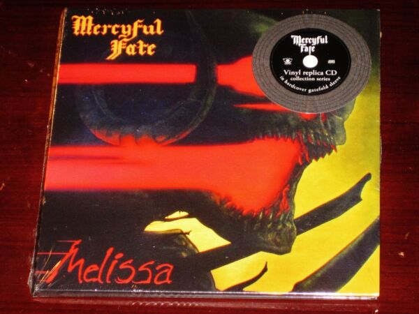 Mercyful Fate: Melissa CD 2020 Reissue Metal Blade Hardcover Gatefold Sleeve NEW $16.95
