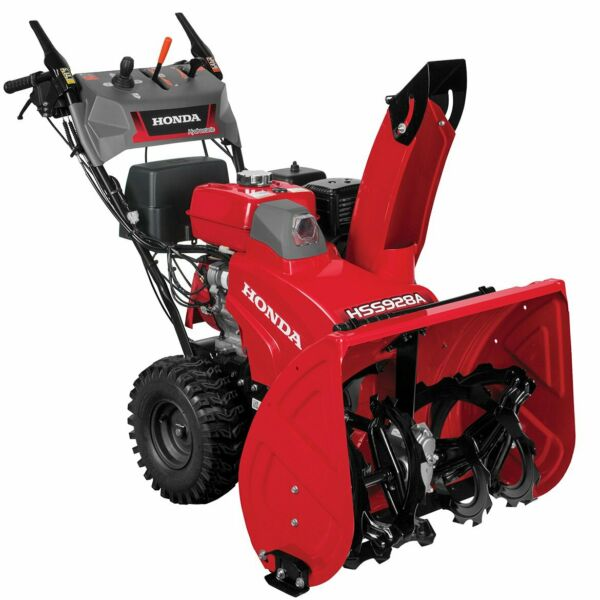 Honda HSS928AAWD 270cc 28-inch 2-Stage Wheel Drive Electric Start Snow Blower