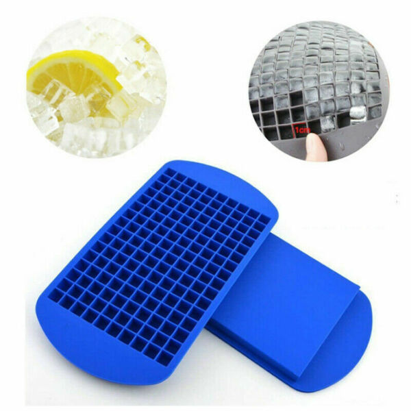 CA For Ice Maker Mold 160 Grids Mini Ice Cube Tray Frozen Silicone Trays 2020 $3.99