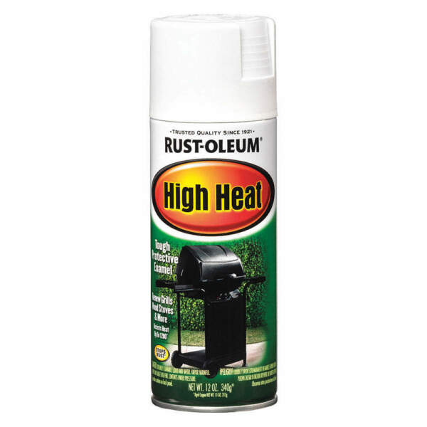 RUST OLEUM 7751830 Spray Paint High HeatWhite12 oz. $9.95