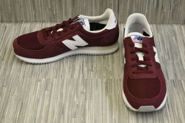 **New Balance 220 U220CD Athletic Sneaker, Men's Size 6D, Red NEW