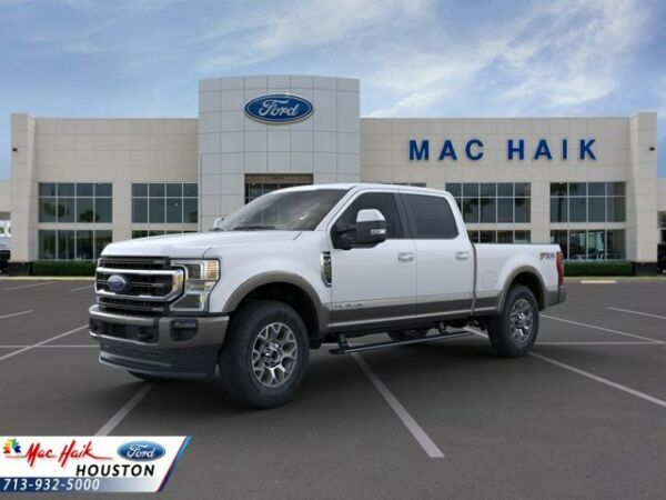 2020 Ford F-250 King Ranch 2020 Ford Super Duty F-250 SRW King Ranch 5 Miles Star White Crew Cab Pickup Int