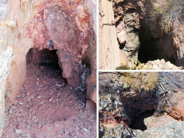 Historic Arizona Copper Gold Silver Mine Au Mining Claim Turquoise Hard Rock AZ