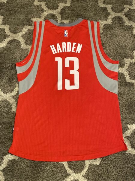 Authentic James Harden Rockets Adidas Chinese New Years Jersey Mens Size:L *NWT*