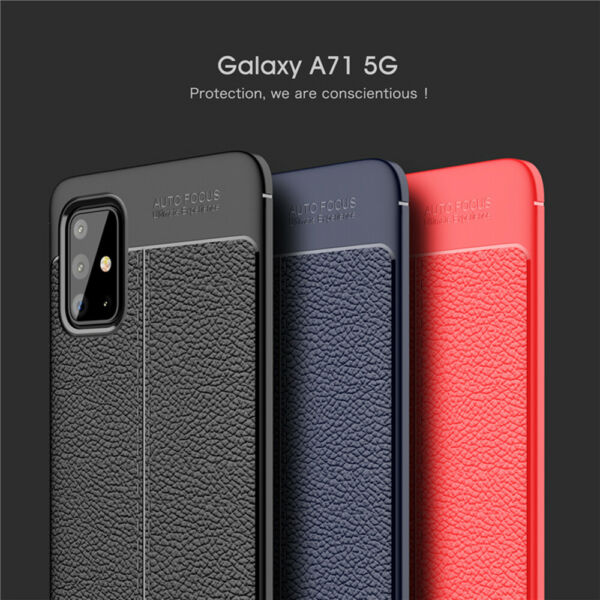 For Samsung Galaxy A71 5G A51 5G Case Luxury Shockproof Leather Slim Cover $8.39