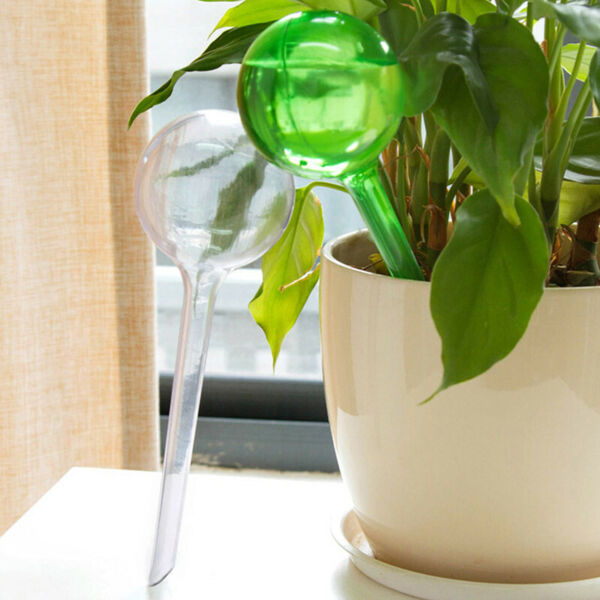 Watering Device Glass Ball Automatic House Plants Pot Bulb Self-Watering $2.99