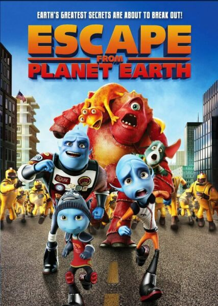 ESCAPE FROM PLANET EARTH  (DVD)  NEW $3.24