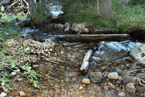 Montana Gold + Silver Mine Creek Placer Mining Claim Highbank Panning Sluice-NR