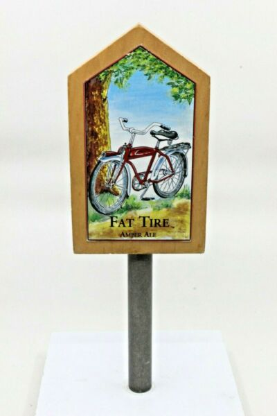 Vintage Beer Tap Handle New Belgium Fat Tire
