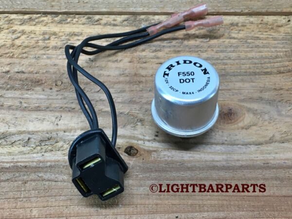 Federal Signal Vintage Lightbar Three Prong Pigtail with Flasher