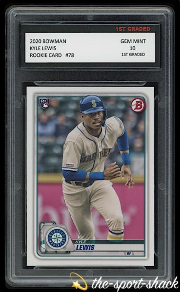 202020 Luis Robert Topps Bowman Draft Rookie Graded 10 Chicago White Sox Card🔥