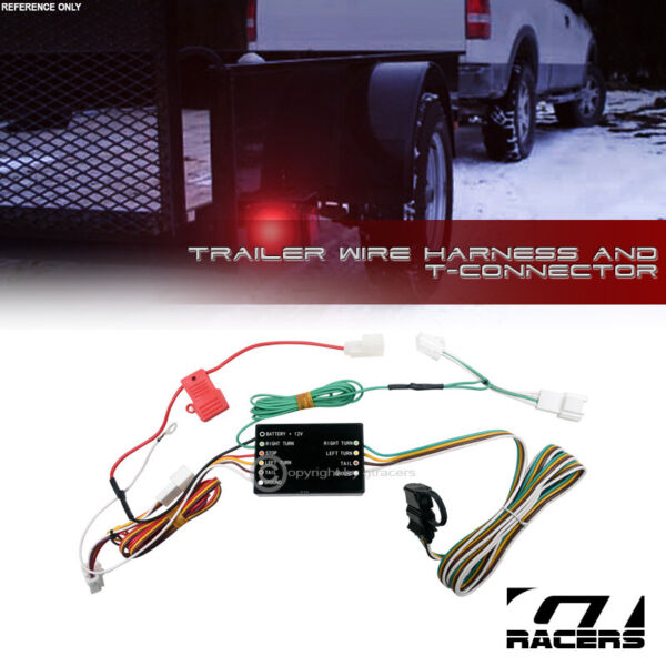 For 2003 2005 2009 2014 Murano Trailer Hitch 4 Way Wire Harness T Connector Kit $34.00