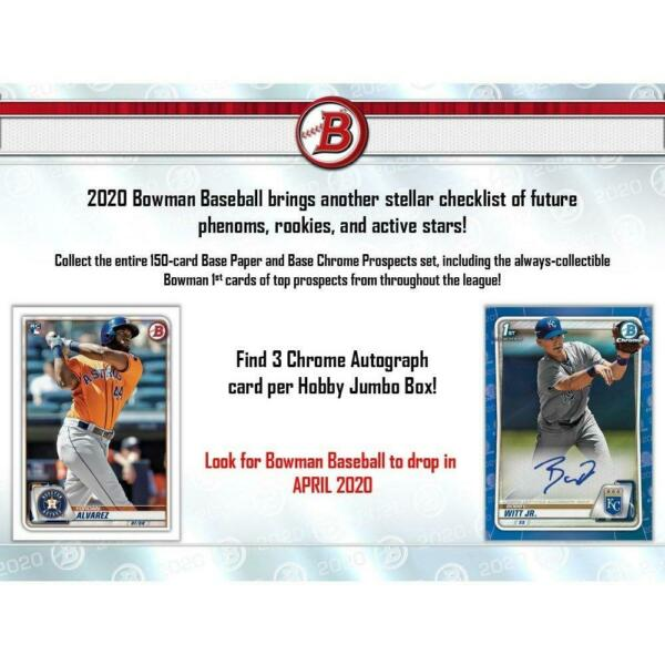 2020 Bowman Base amp; Prospects Complete Your Set You Pick **FREE SHIPPING**