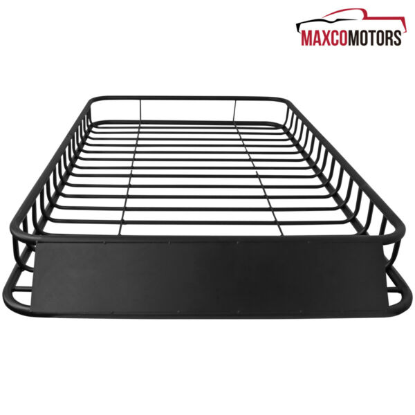Universal Car 62#x27;#x27;x39quot; Black Steel Roof Rack Top Luggage Carrier Basket $228.19