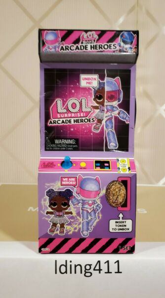 LOL Surprise Dolls Boys Arcade Heroes  Infinity Queen Starling NewSealed VHTF