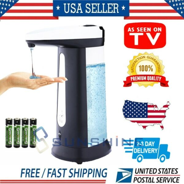 Automatic Soap Dispenser 400ML【2020 New Version】Sanitizer Touchless Hands Free $18.81