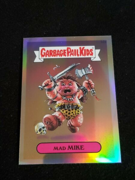 Garbage Pail Kids 2013 MAD MIKE 33a Chrome REFRACTOR GPK Topps