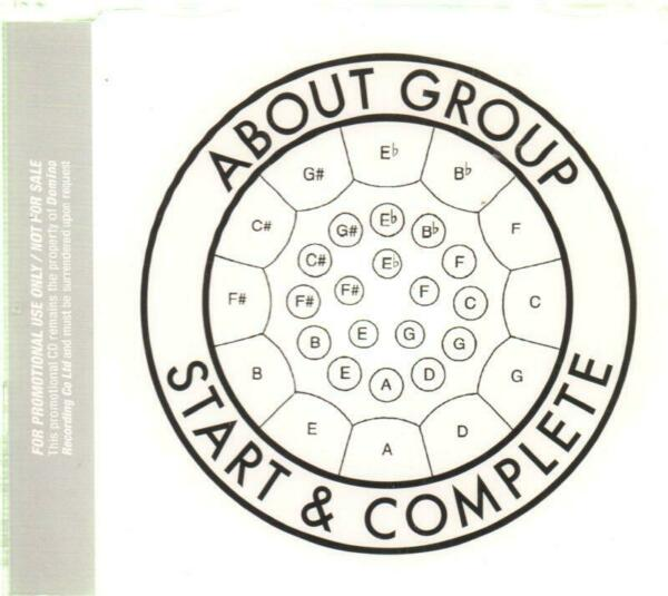 About Group Promo CD Single Start amp; Complete New