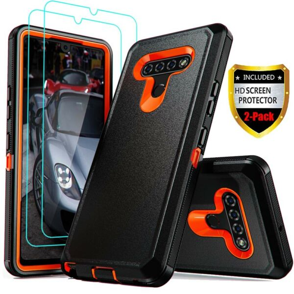 For LG Stylo 6 5 4 Case Heavy Duty Shockproof Armor CoverGlass Screen Protector $9.96