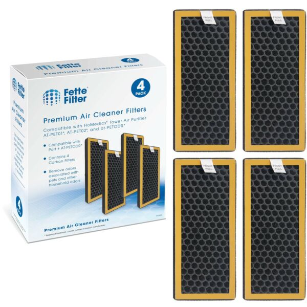 Activated Carbon Filter Compatible with HoMedics TotalClean PetPlus. $29.99