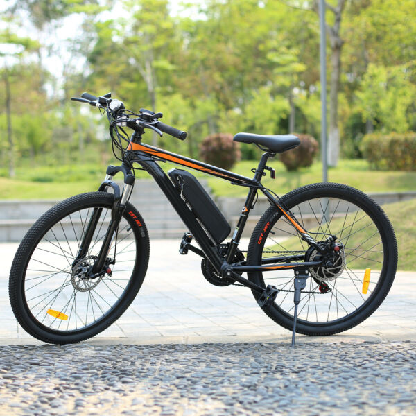 26INCH Electric Bike Mountain Bicycle Ebike 10.4A Lithium-Ion Battery350W Motor
