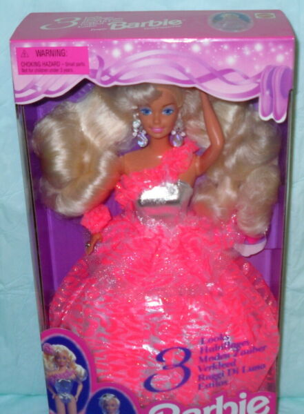 3 looks in 1 Barbie NRFB No RES