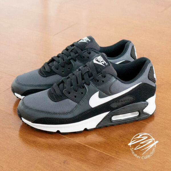 Nike Air Max 90 Iron Grey White Smoke Grey Running Shoe Men CN8490 002