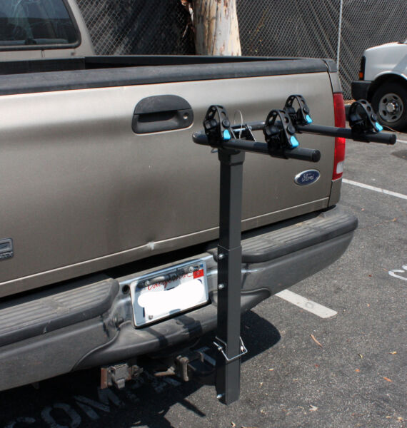 Two Bike Rack Bicycle Carrier Racks Hitch Mount Double Swing Arm Foldable Rack $84.99