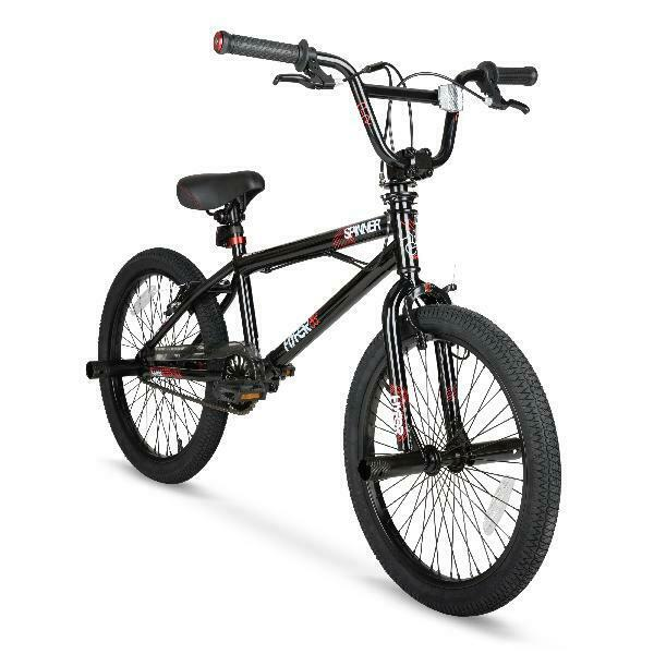 Hyper 20quot; Spinner BMX Bike Gloss Black $132.99