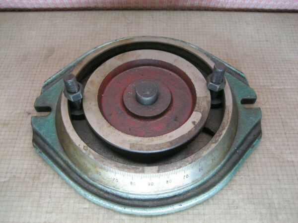USED 12quot;X13quot; VISE SWIVEL BASE PART FOR 6quot; MACHINIST VISE 27 LBS. OLD PARTS 880X