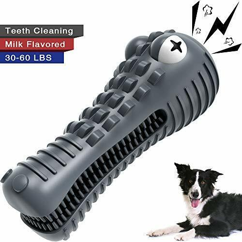 Wisedom Dog Chew Toys Indestructible Dog Teeth Cleaning Toys Starry Sky Gray $23.75