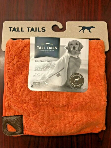Tall Tails Cape Pocket Microfiber Dog Towel 27quot; x 27quot; $21.99