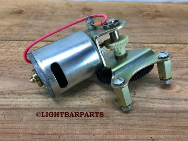 Federal Signal Aerodynic Lightbar Complete 12v Motor and Gear Assembly