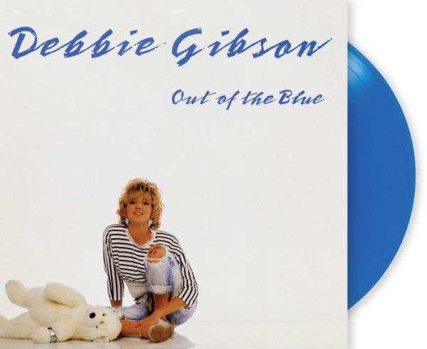 Debbie Gibson Out Of The Blue Exclusive Limited Edition Translucent Blue Vinyl