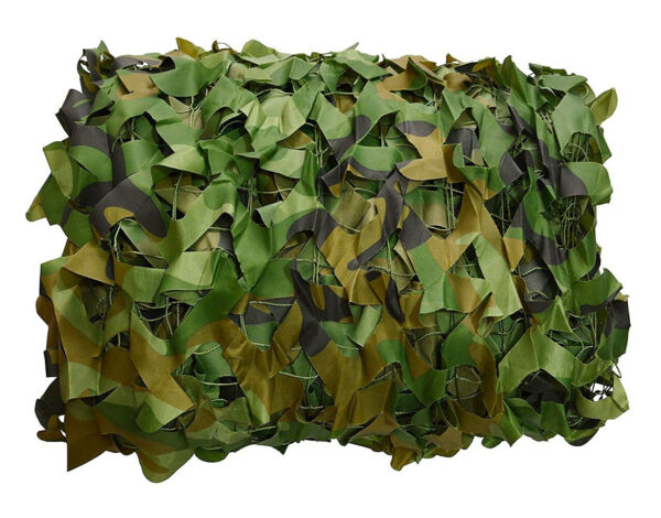 Woodland Camouflage Camo Net Hunting Hide Netting Camping Military Shelter USA